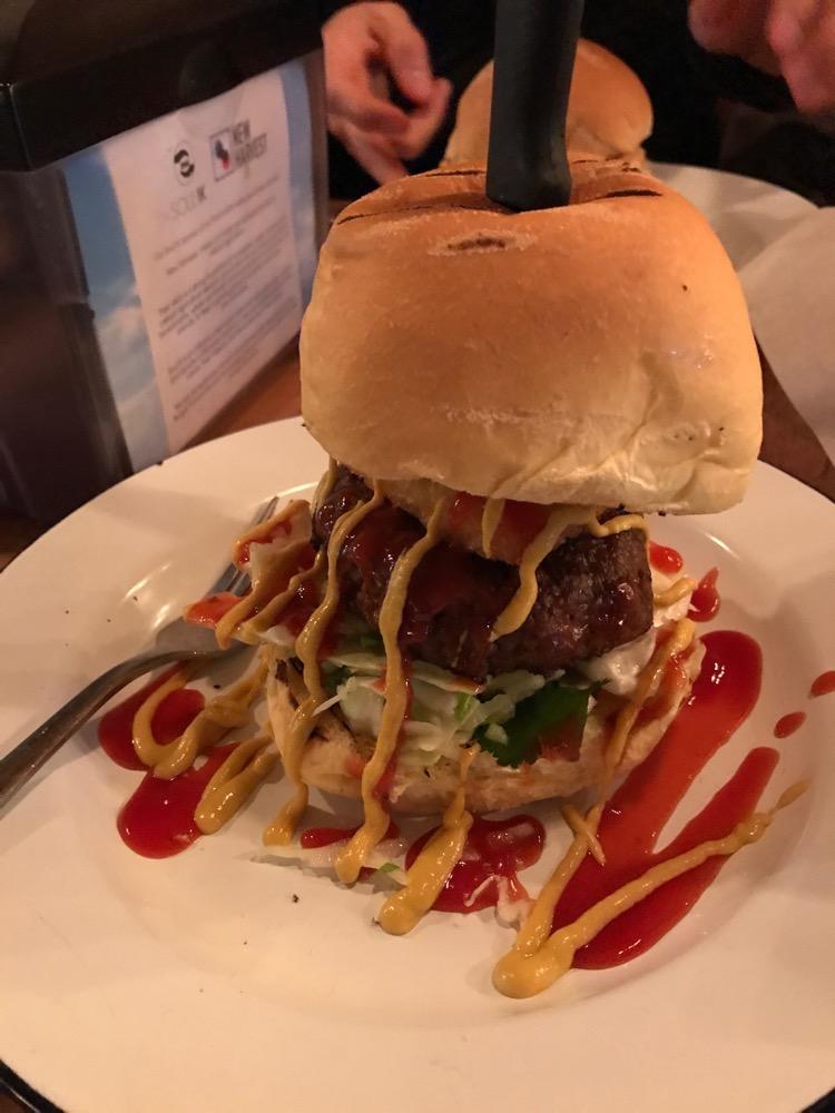 Soul Burger - 'American Bad-Ass' burger (Limited Edition)
