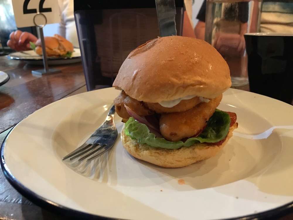 Soul Burger - 'Battered Fish' burger